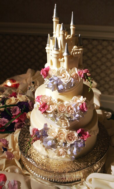 Disney Wedding Cakes
