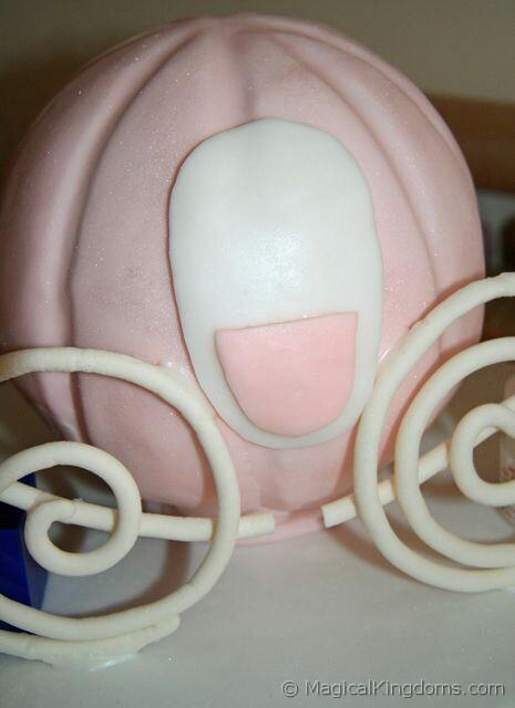 How to Make a Cinderella Coach Birthday Cake Disney Blog at