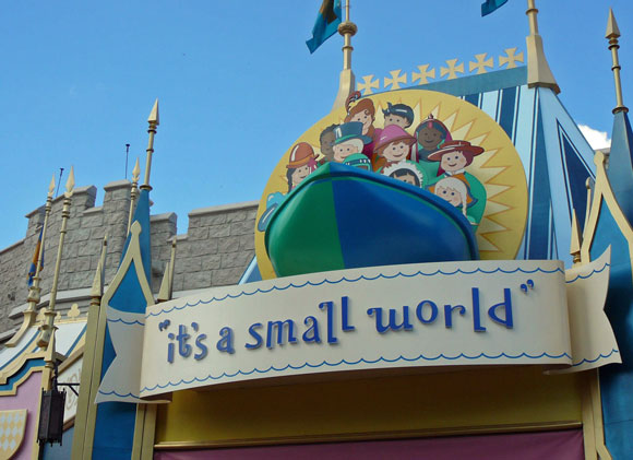 It's a Small World at Magic Kingdom Theme Park at Disney World