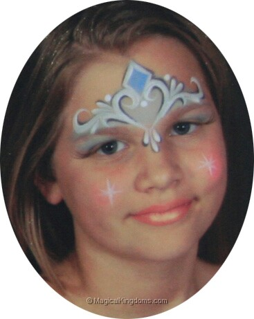 The gallery for disney princess face painting ideas for Face painting rates