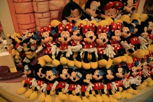Medium Mickey plush