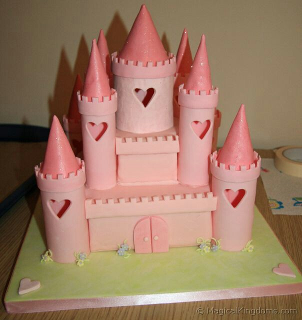 Surprising How To Make A Disney Castle Birthday Cake Disney Blog At Magical Birthday Cards Printable Nowaargucafe Filternl