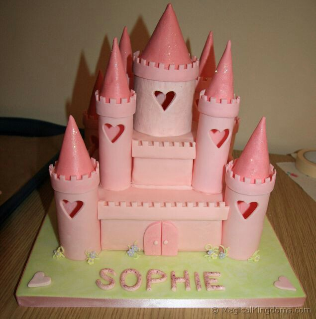 Incredible How To Make A Disney Castle Birthday Cake Disney Blog At Magical Funny Birthday Cards Online Eattedamsfinfo