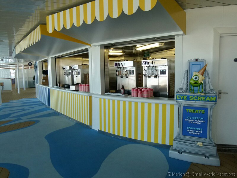 Cars On Line >> Disney Cruise Line Onboard