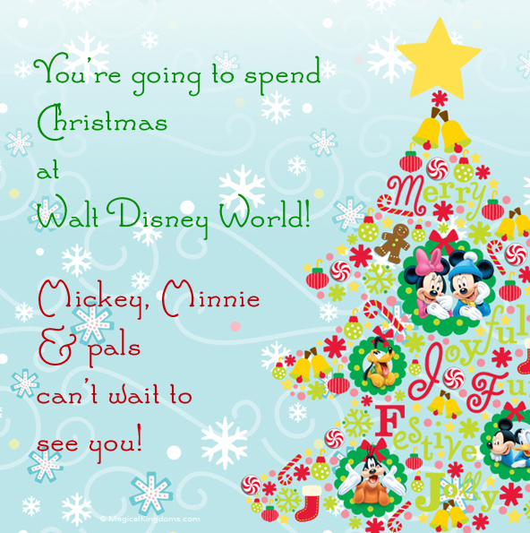 graphic regarding You Re Going to Disney World Printable referred to as Disney Printable Holiday and Party Invites Totally free