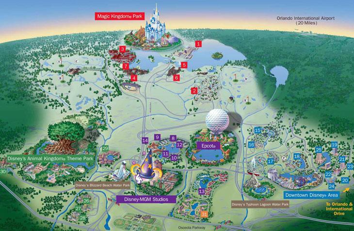 Disney World - Learn about Walt Disney World, Disneyworld Orlando at on