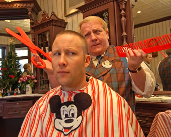 downtown disney haircut magic kingdom theme park at disney world 4957